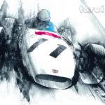TaruiHiroshi_F1 Honda RA272 : Honda Cars カレンダー2015