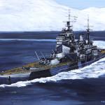 英戦艦「ハウ」