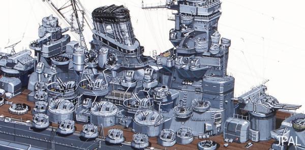 戦艦「大和」部分