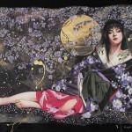 10007-01 星恵美子「桜ものがたり1」350,000 円