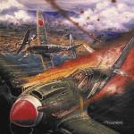 10015-02 上田 信「南太平洋の空戦」