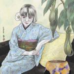 10017-麻利邑みみ「夜のアリス」 160,000 円