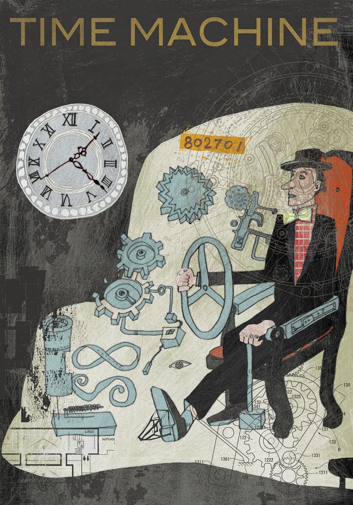 10034-03 多屋光孫「TIME MACHINE」18,000 円