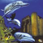 10045-04 ウザワジュンヤ「海底の遺跡」
