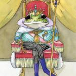 竹熊ゴオル「 蛙の王女」30,000 円