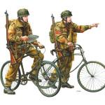 大西將美 イギリス軍空挺兵自転車