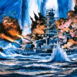 KomatsuzakiShigeru_戦艦山城_スリガオの海戦