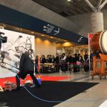 東京オートサロン2015 墨画ライブパフォーマンス