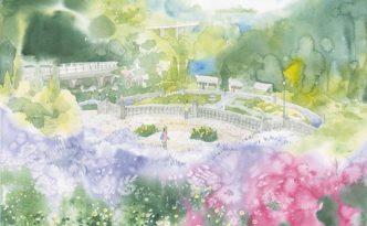 青木美和 日本透明水彩会展 作品