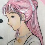 菅ナオコ 『みたままつり』にイラストレーションを奉納