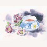 青木美和 水彩画展